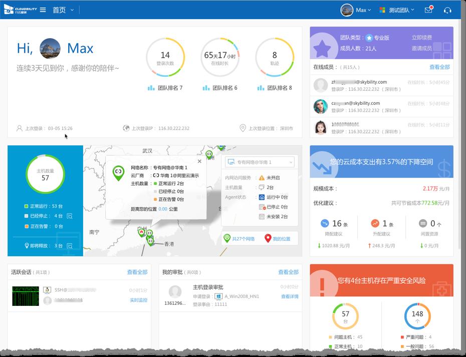 行云管家v4.9正式发布:监控全面提升,首页、主机详情大幅优化,新增大量实用功能 产品攻略 第6张